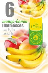Pastile parfumate aroma de fructe TL 6 - MANGO BANANA